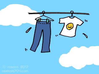 汗かきだからこそ効果的な洗濯をしよう~おすすめはミョウバン水すすぎ~